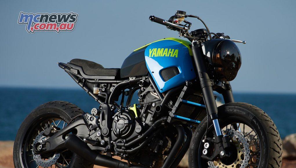 Yard Built Yamaha XSR700 'Otokomae' by Ad Hoc Café Racers