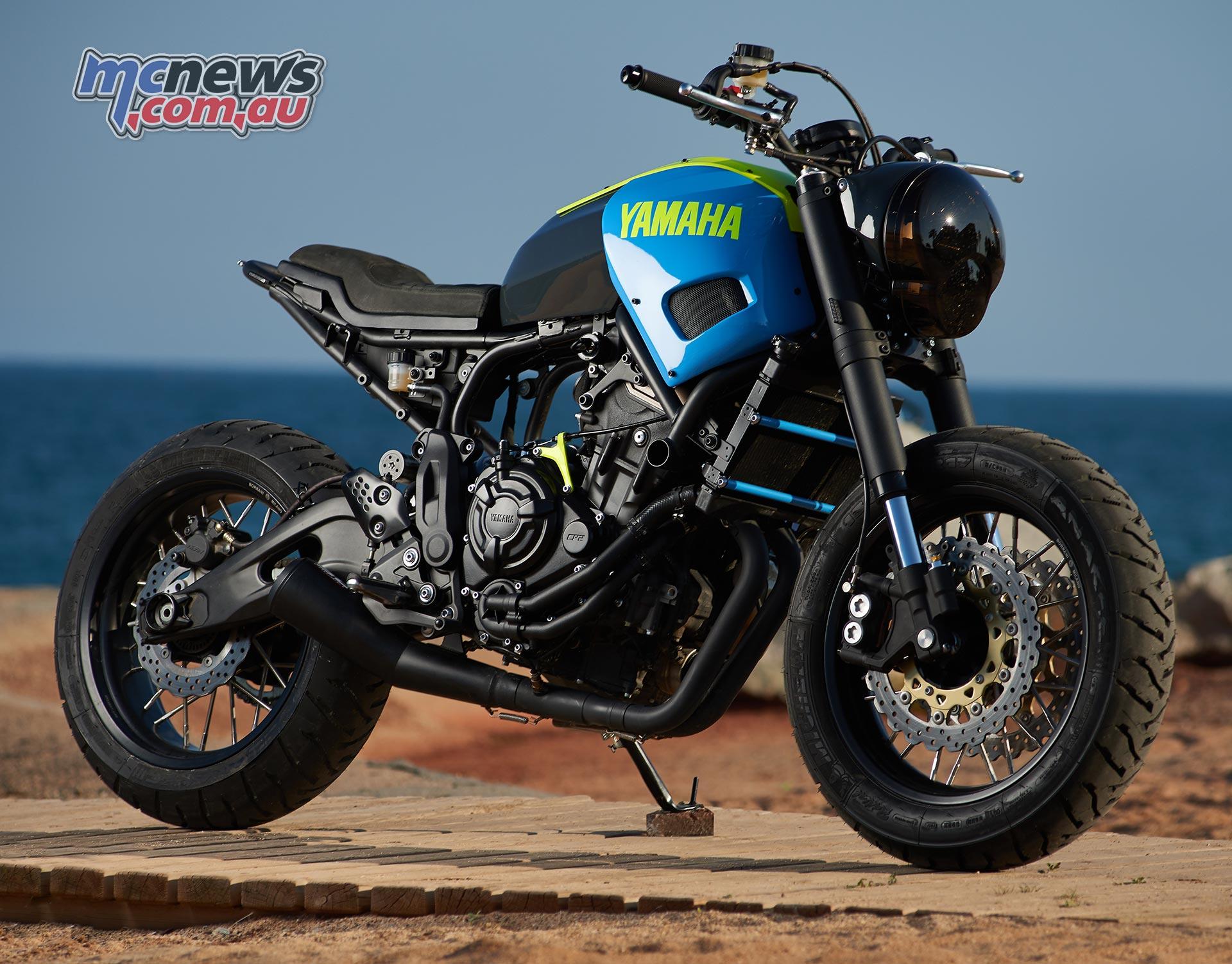 Yard Built Yamaha XSR700 Otokomae By Ad Hoc Cafe Racers