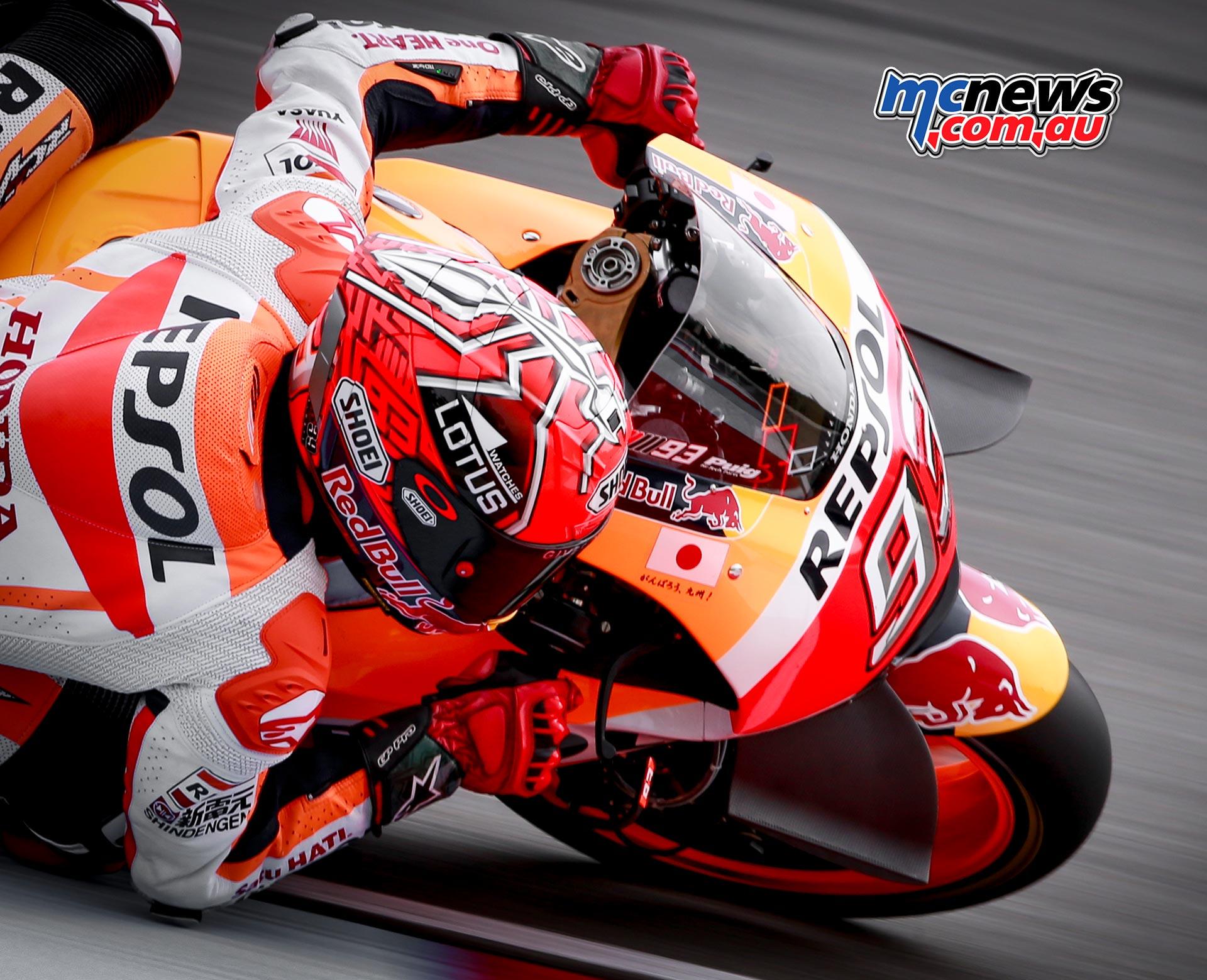 Marc Marquez takes Brno MotoGP Pole | MCNews.com.au
