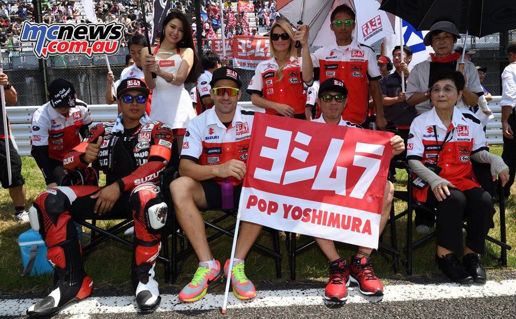 Yoshimura Suzuki - Suzuka 8 Hours 2016