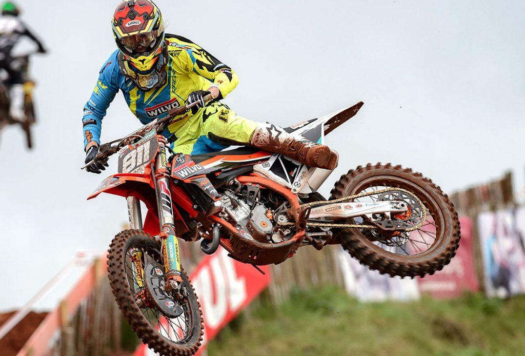 Adam Sterry won his first British MX2 Championship - Nuno Image