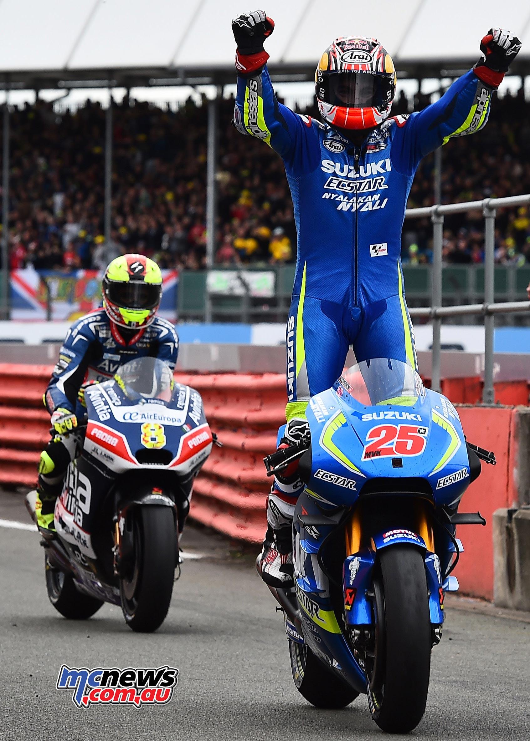 Maverick Vinales and Suzuki smash Silverstone MotoGP   MCNews.com.au