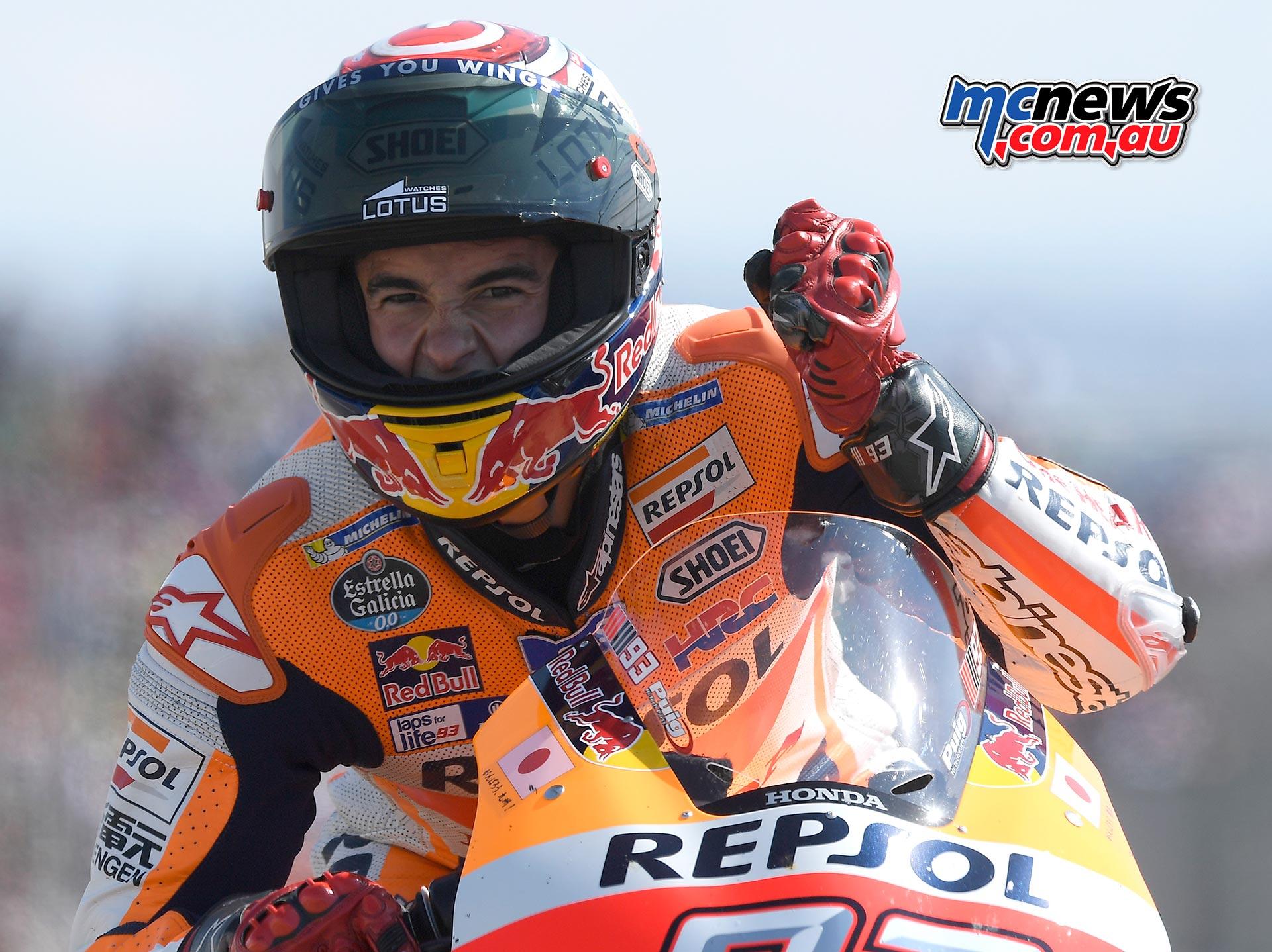 Marc Marquez reflects on 2016 MotoGP World Title | MCNews.com.au