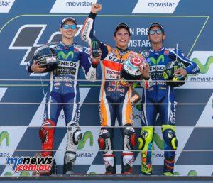 MotoGP 23016 - Rnd 14 - Aragon - Podium - MotoGP