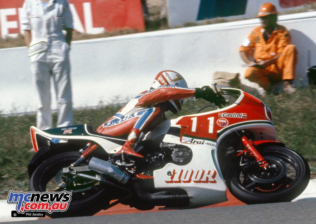 Andrew Johnson/Honda CB1100R.