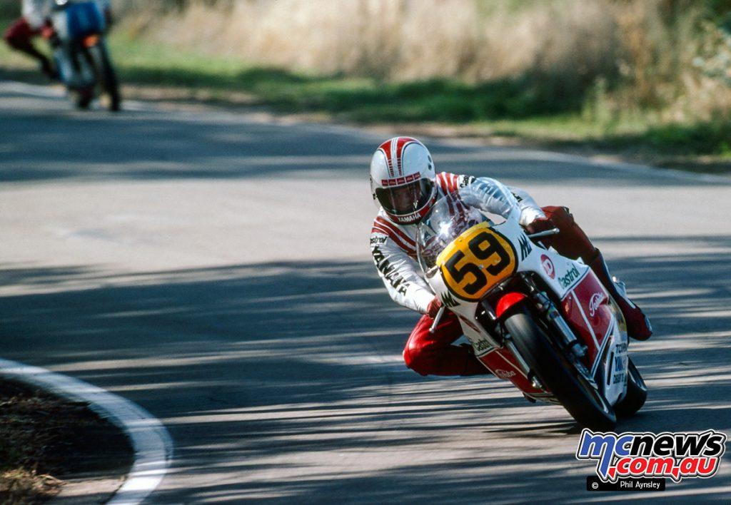 Ron Boulden/Yamaha TZ500.
