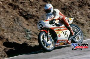 Andrew Johnson YamahaTZ750.