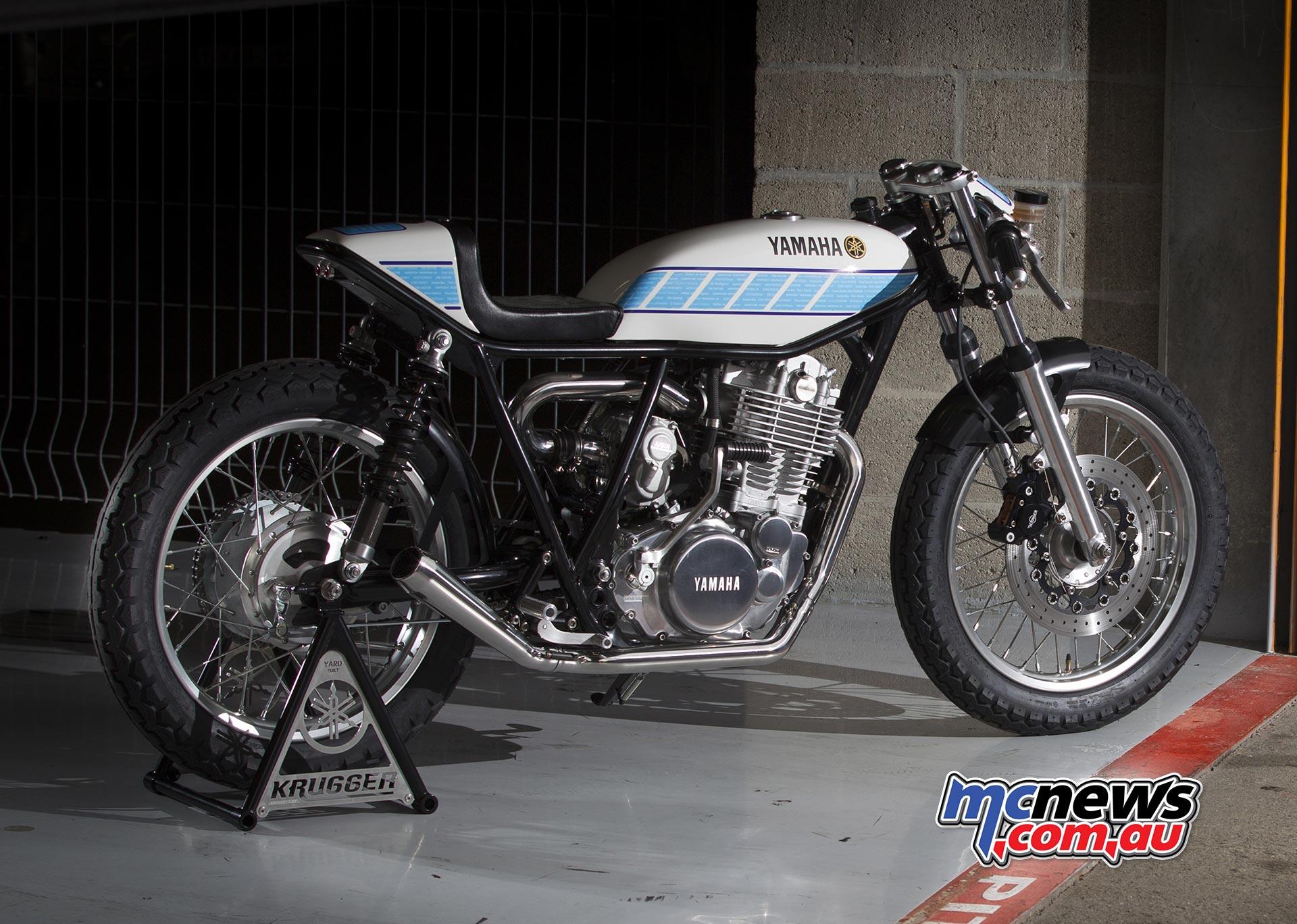 Supercharged Yamaha SR400 Custom | MCNews.com.au