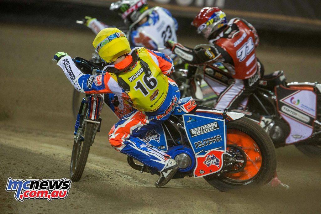 Speedway GP Melbourne - Brady Kurtz