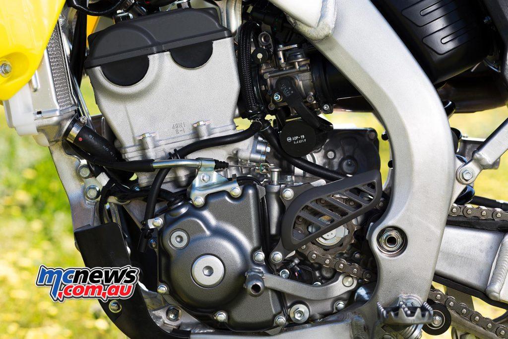2017 Suzuki RM-Z250 - single-cylinder, four-stroke, liquid-cooled, 249cc, DOHC