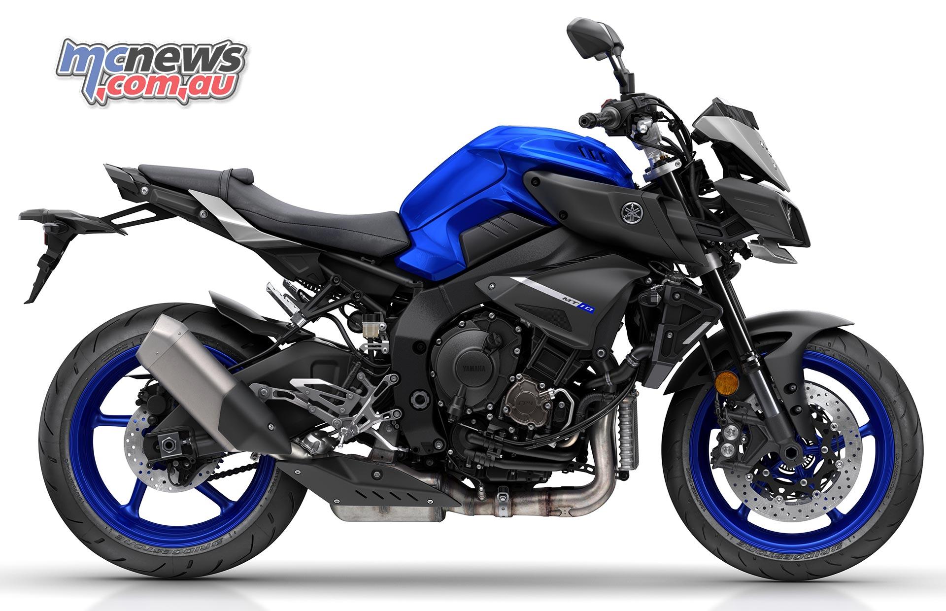 Yamaha MT-10 SP gets Y...