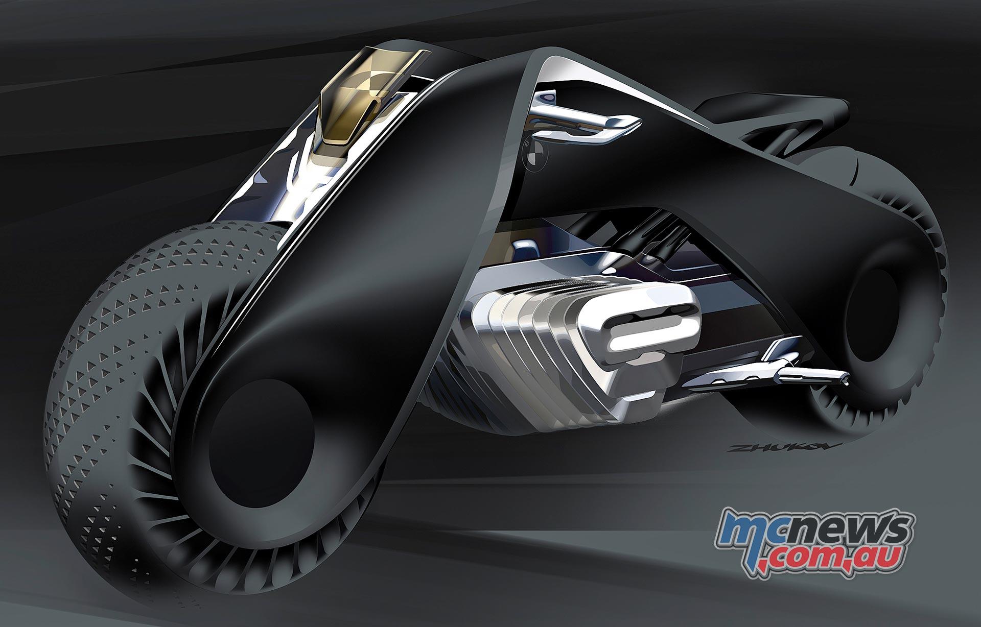 BMW Motorrad Vision Next 100 | Zero Emissions