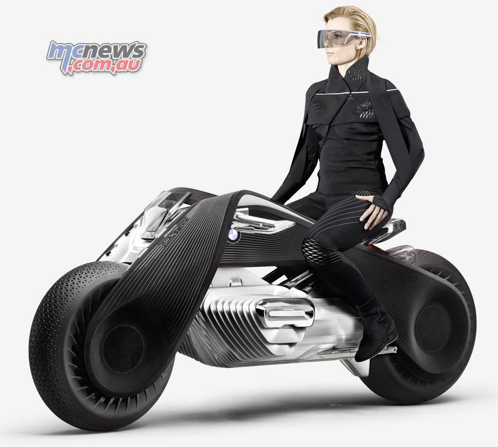 bmw motorrad vision next 100 zero emissions. Black Bedroom Furniture Sets. Home Design Ideas
