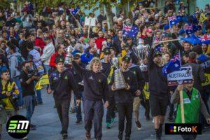 The Australian ISDE 2016 team.
