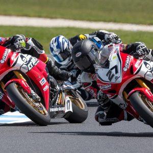 MotoGP Support Races - Australian Superbike - Stauffer, Herfoss, Waters - Image by Andrew Gosling