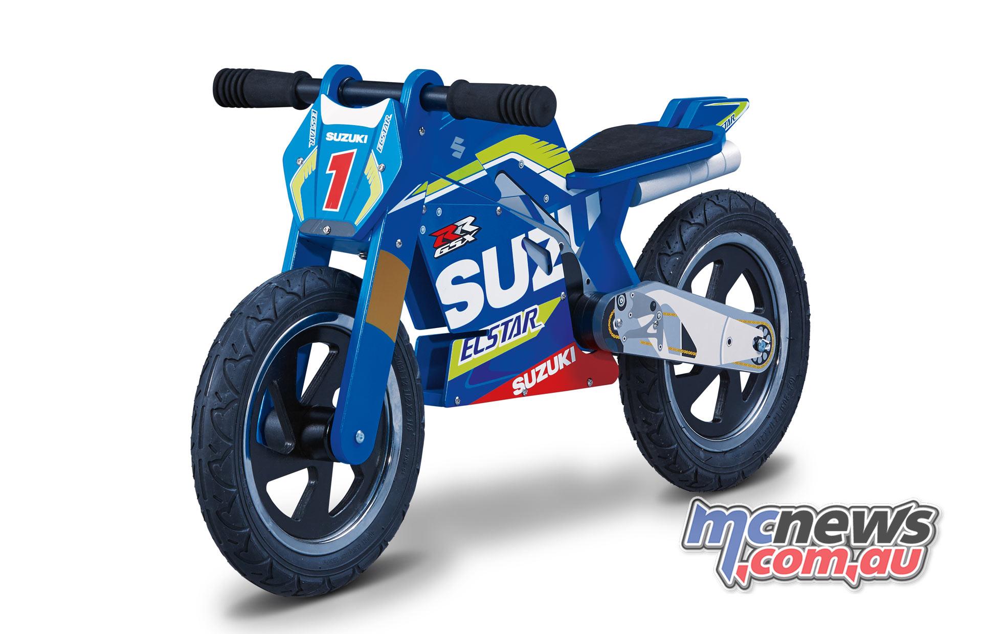 Suzuki MotoGP GSX-RR Kiddimoto Balance bike