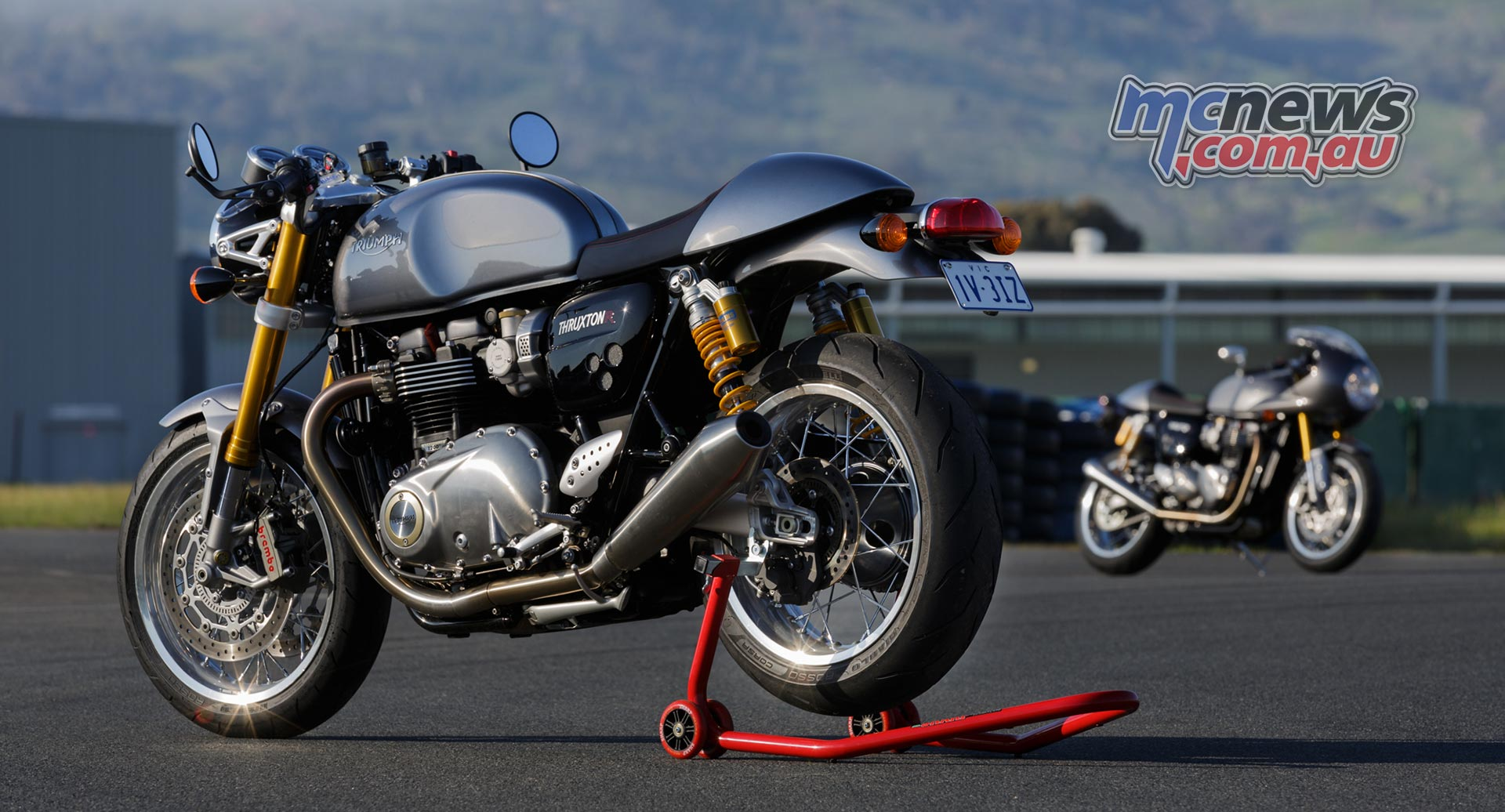 Triumph Thruxton Review Triumph Thruxton Test Mcnews