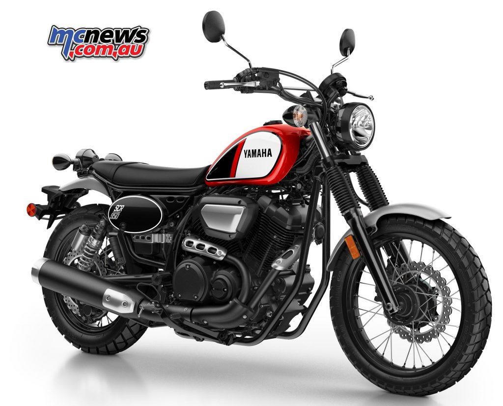 Yamaha Scr950 Yamaha Get In On Scrambler Act Mcnews Com Au