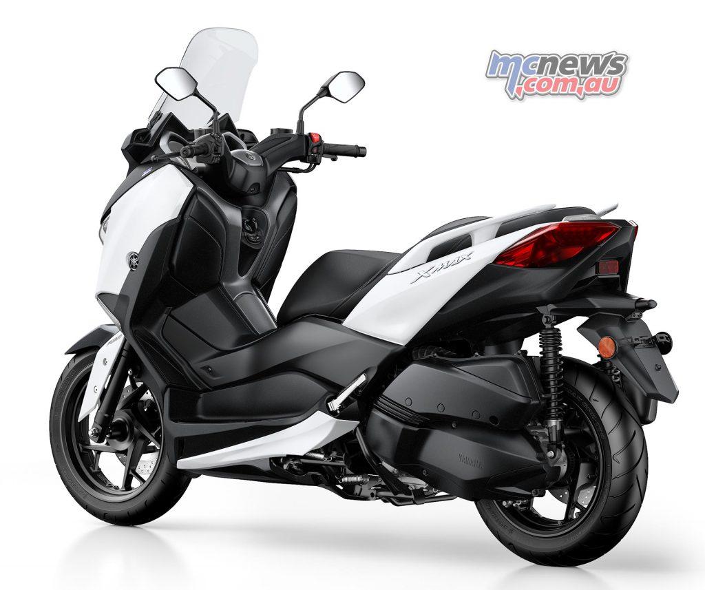 2017 Yamaha X-Max 300, Milky White