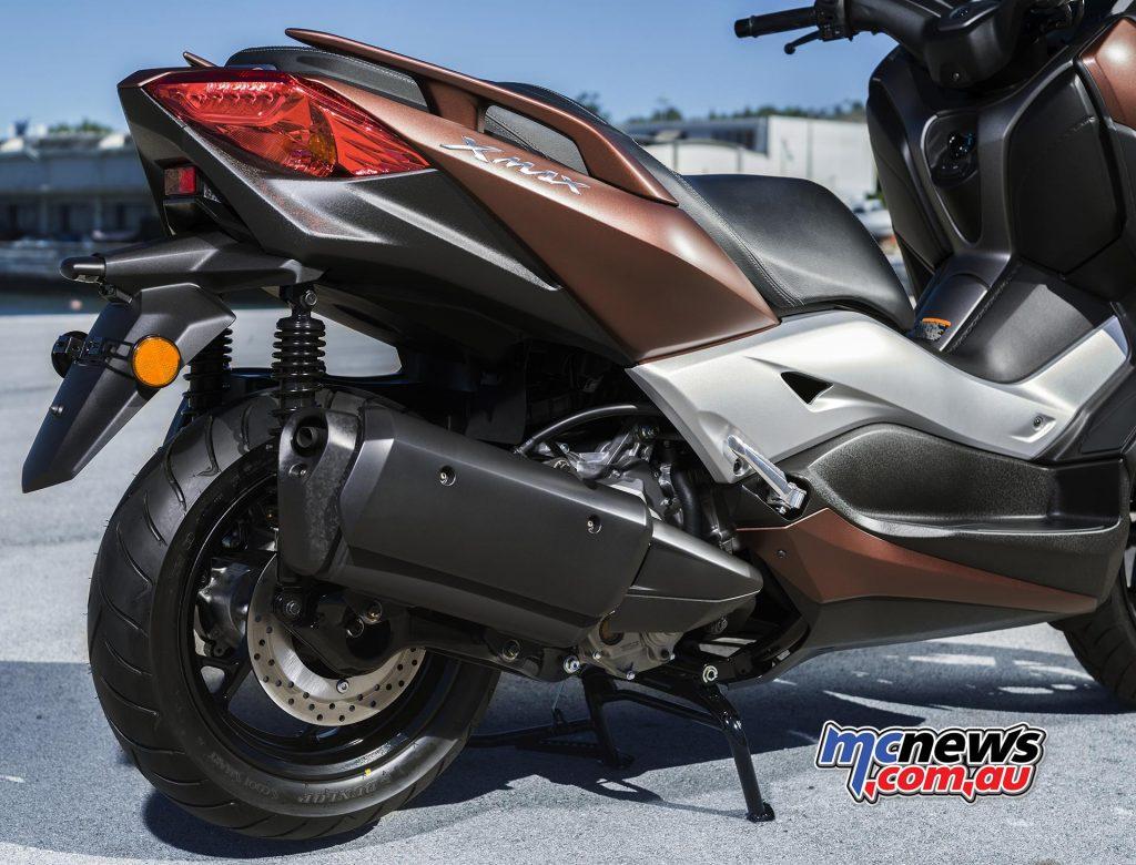 2017 Yamaha X-Max 300, Euro4 compliant 27.6hp engine.