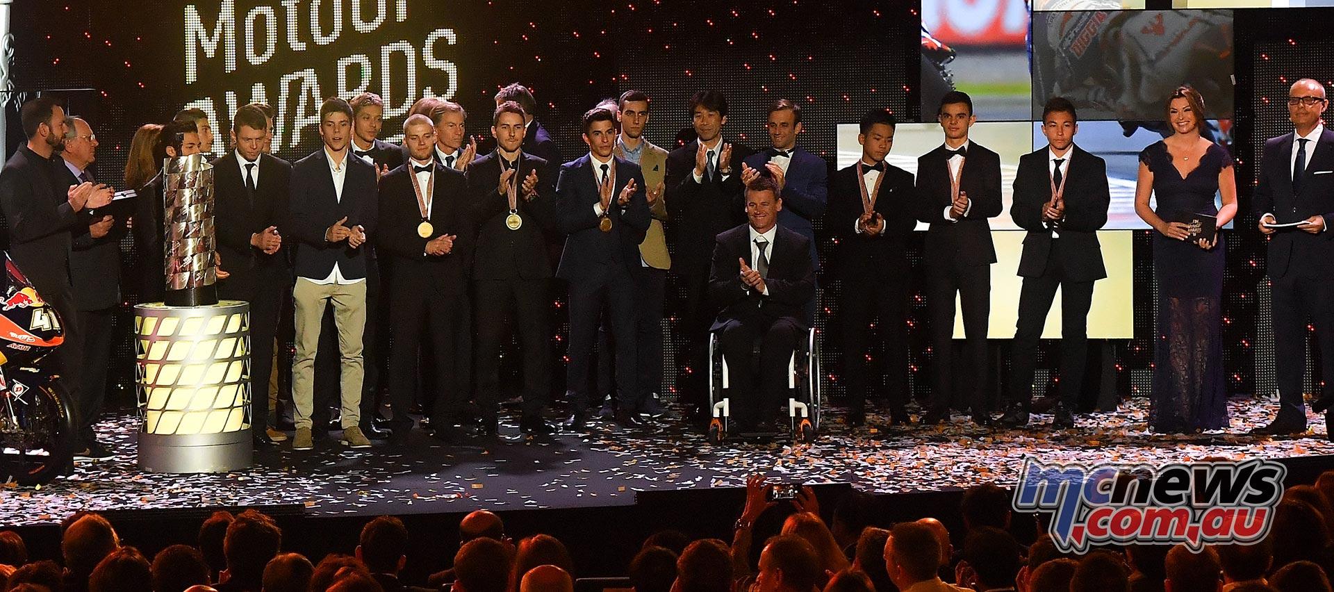FIM Awards Ceremony closes the MotoGP season   MCNews.com.au