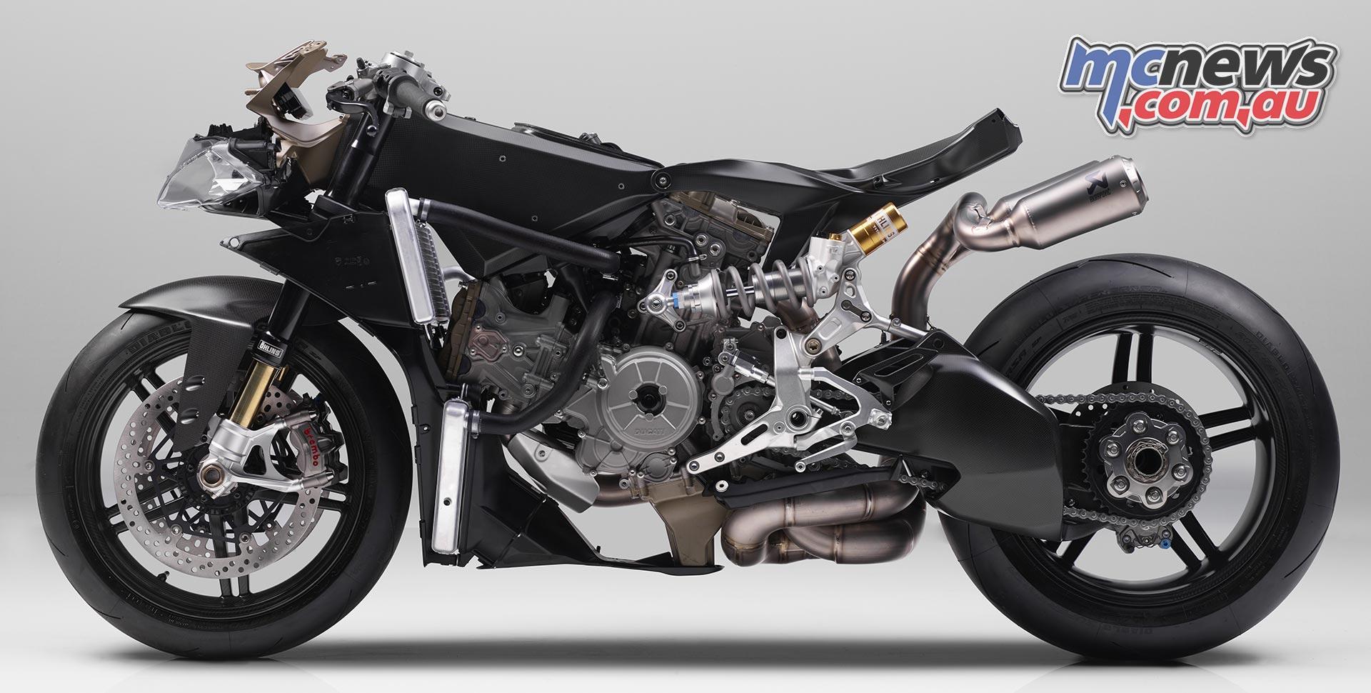 Ducati 1299 Superleggera   215hp   Carbon everything   MCNews.com.au