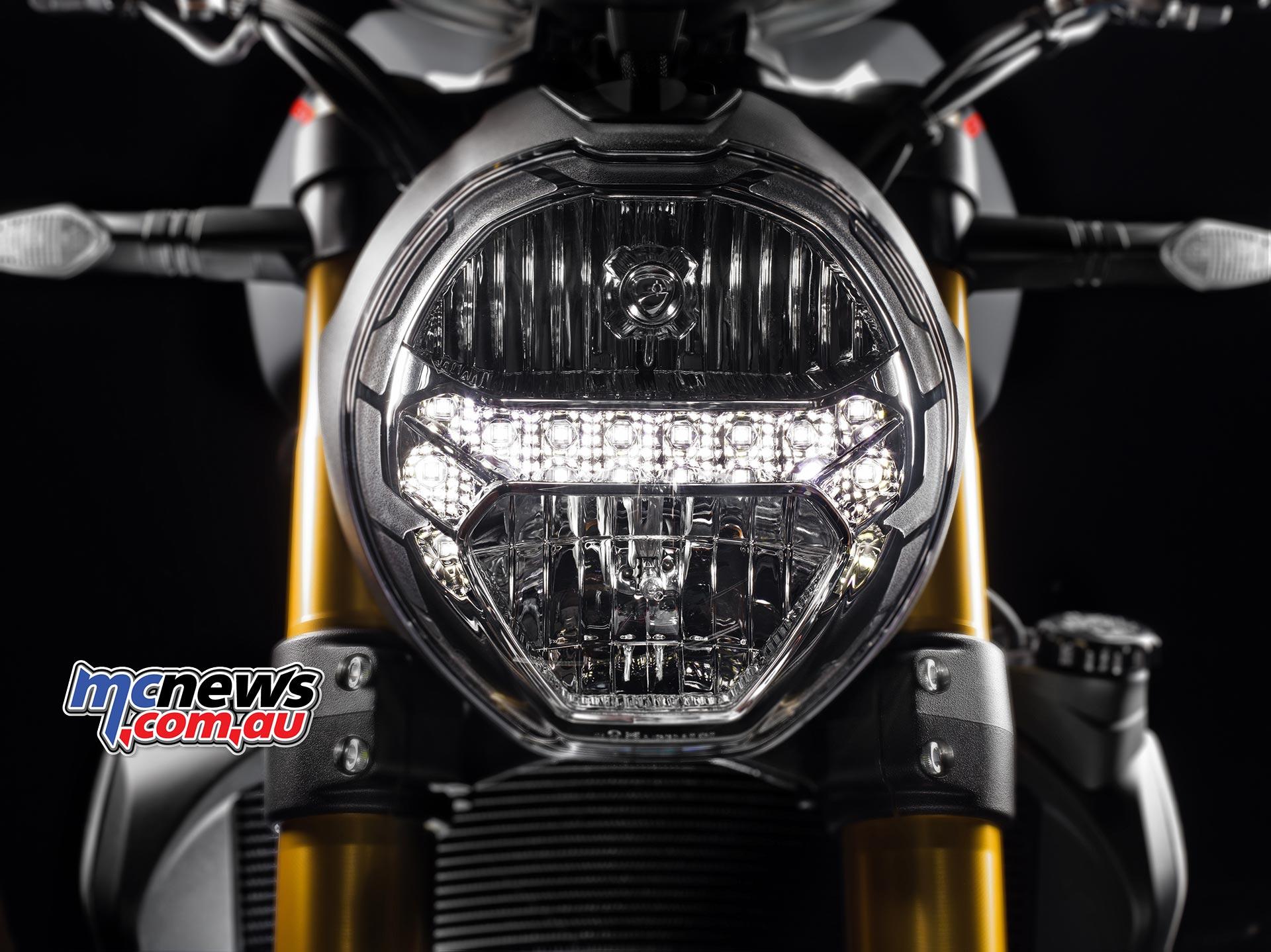 2017 Ducati Monster 1200 S Updated Led Tail Light Wiring On Diagram Horseshoe Side Lights