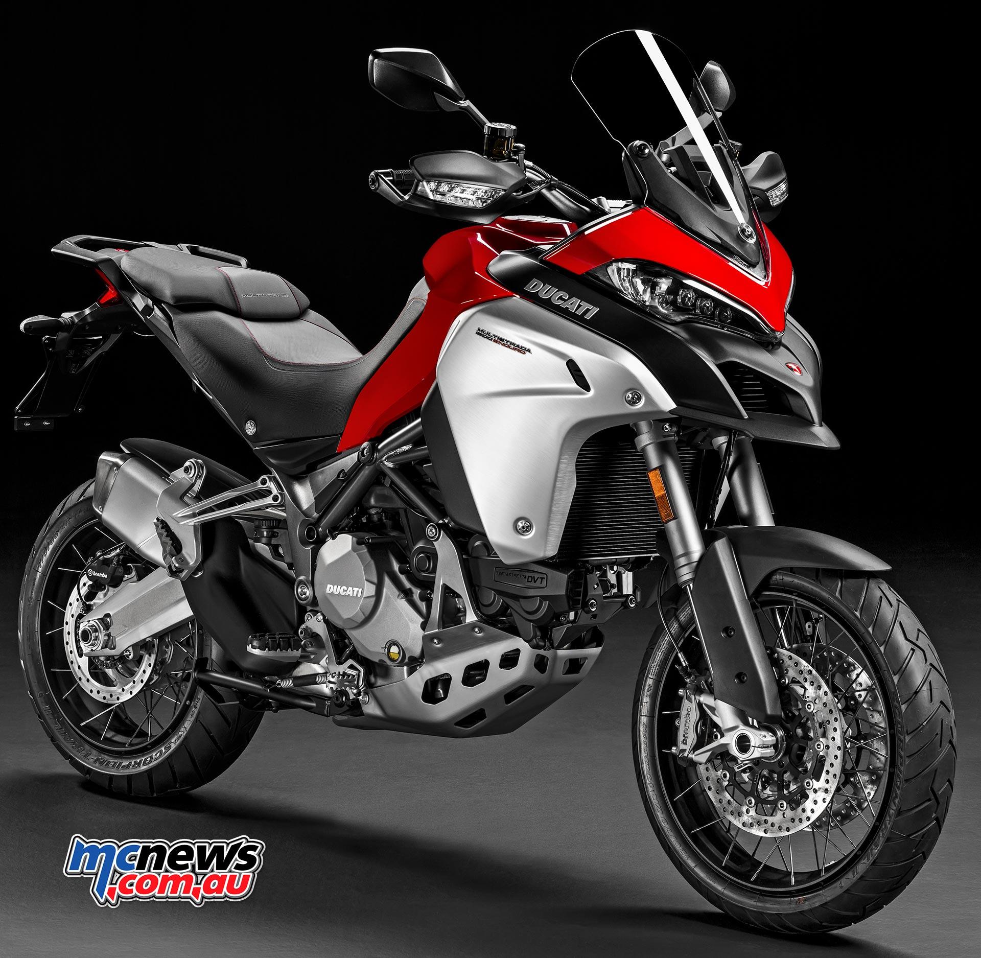 2017 Ducati Multistrada Enduro tweaked