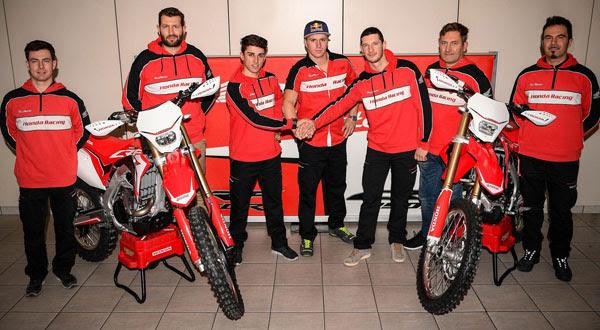 2017 Honda RedMoto team