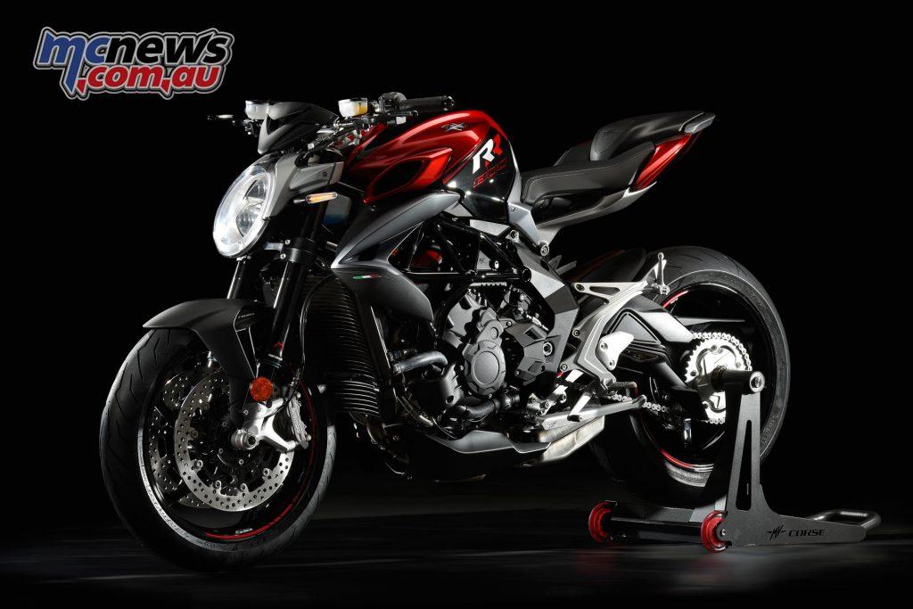 2017 MV Agusta Brutale 800 RR - Red Shock Pearl / Carbon Black Metallic