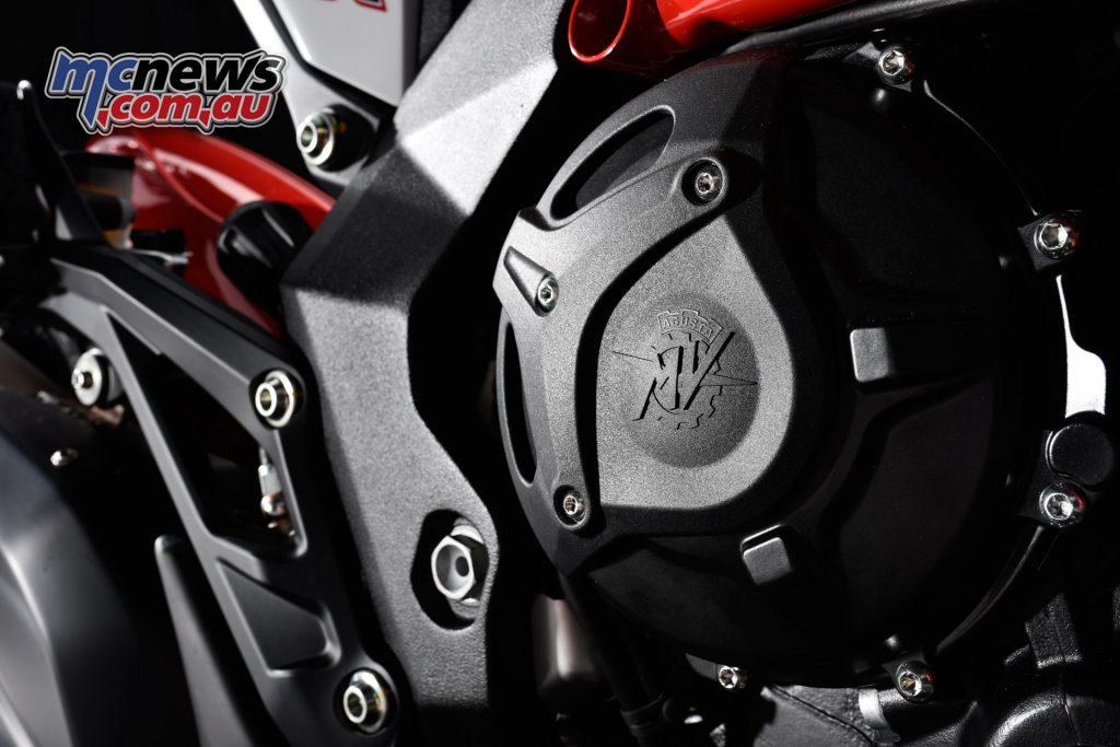 2017 MV Agusta Turismo Veloce RC - engine case protectors