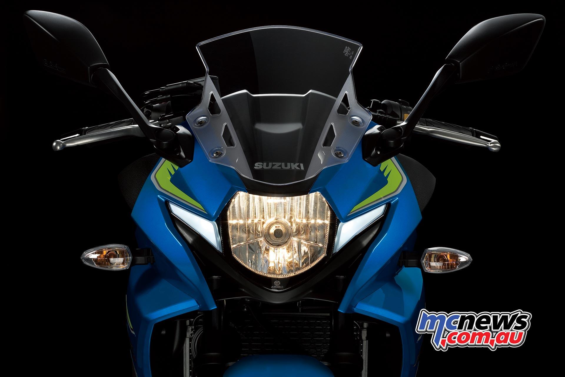 Suzuki Gsx250r New Parallel Twin Faired Streetbike
