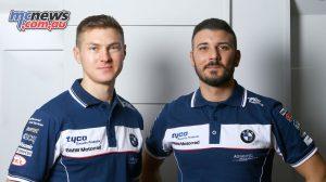 Christian Iddon & Davide Giugliano - Tyco BMW