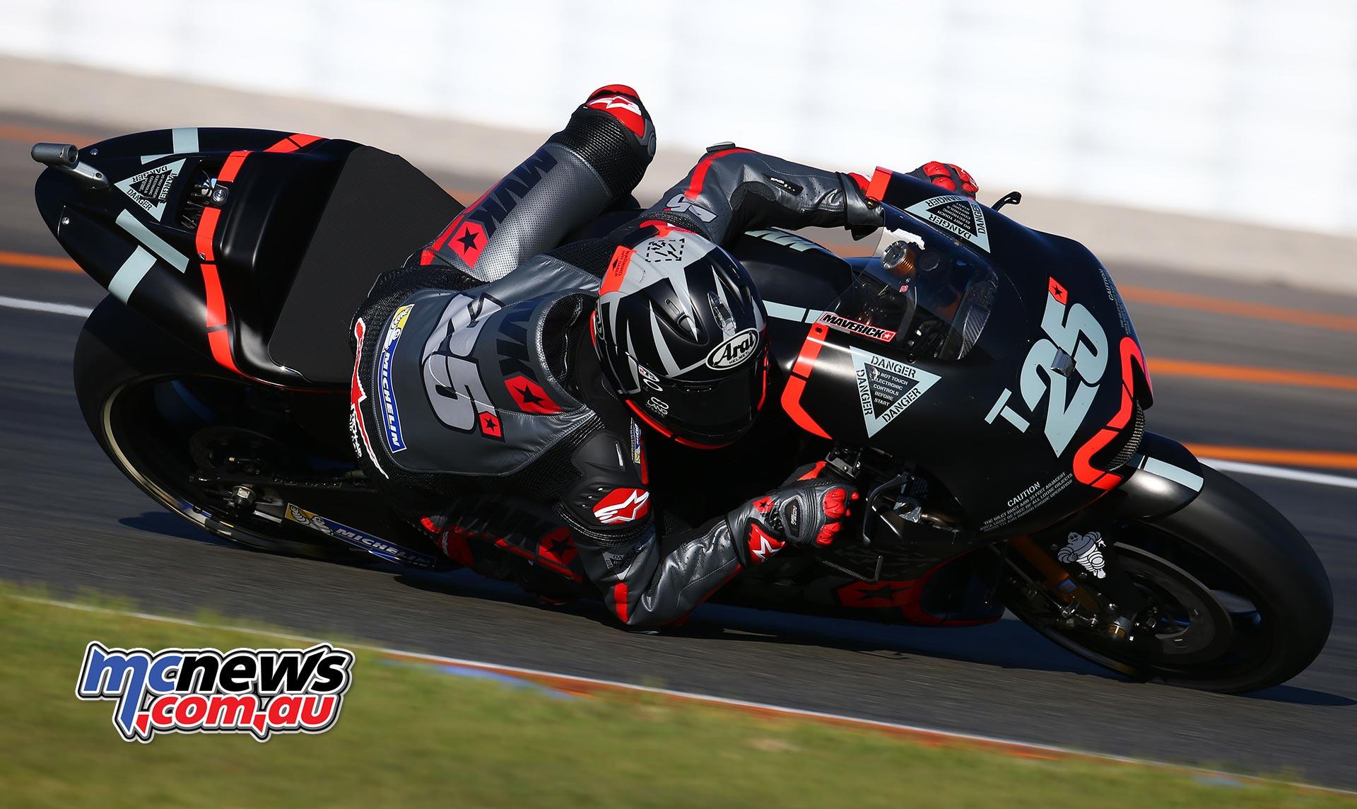 Maverick Vinales tops day one of 2017 MotoGP Testing | MCNews.com.au