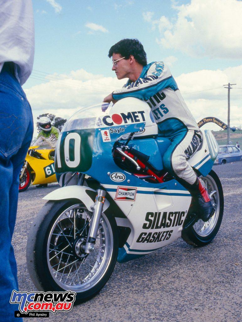Bathurst 1984 - Jeff Sayle/Yamaha TZ250.