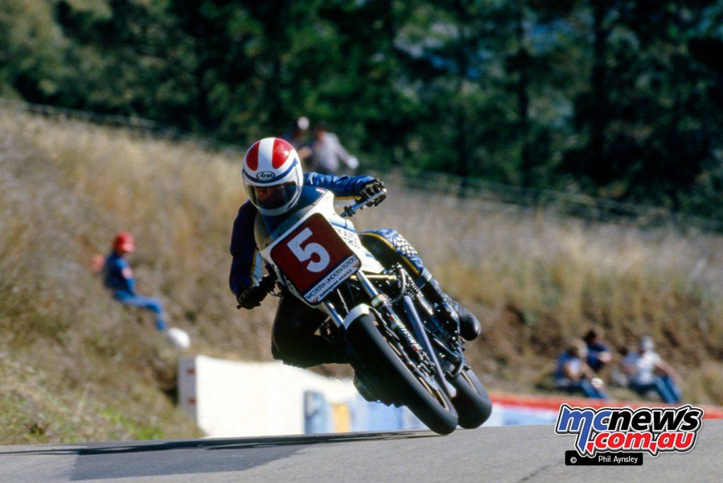 Bathurst 1984 - Alan Feely/Kawasaki 1000.