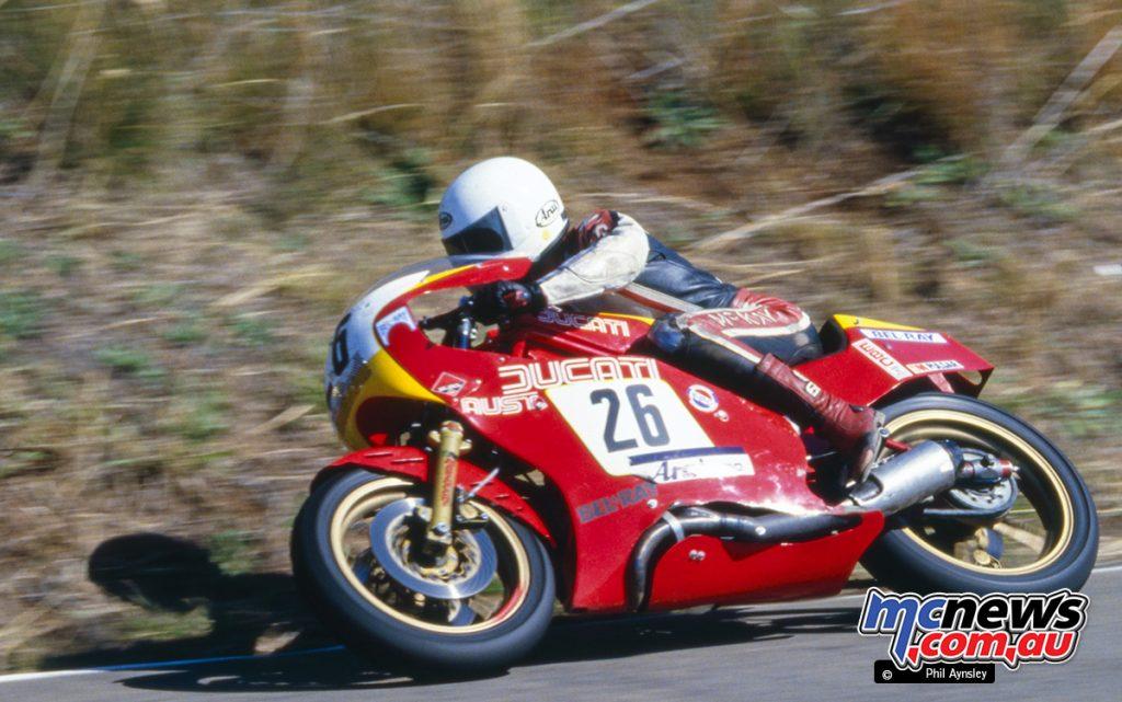Bathurst 1984 - Peter McKay/Ducati 600 TT2.