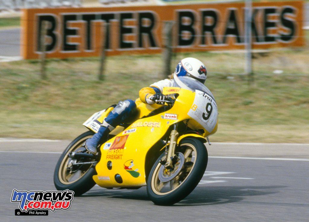 Bathurst 1984 - Peter Muir/Ducati 680 TT2.