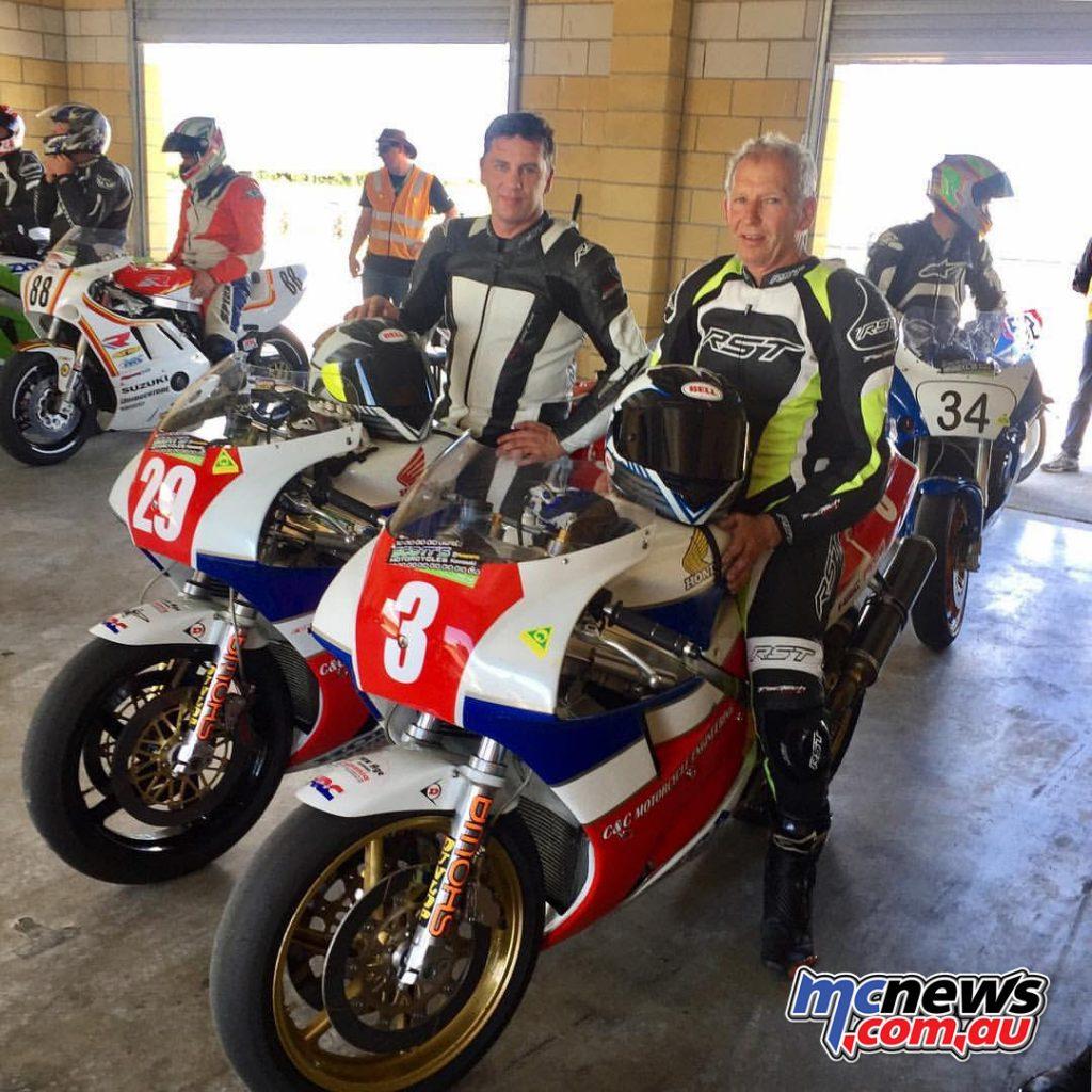 Scott Campbell and Malcom Campbell - 2016 Australian Historic Championship - Tasmania
