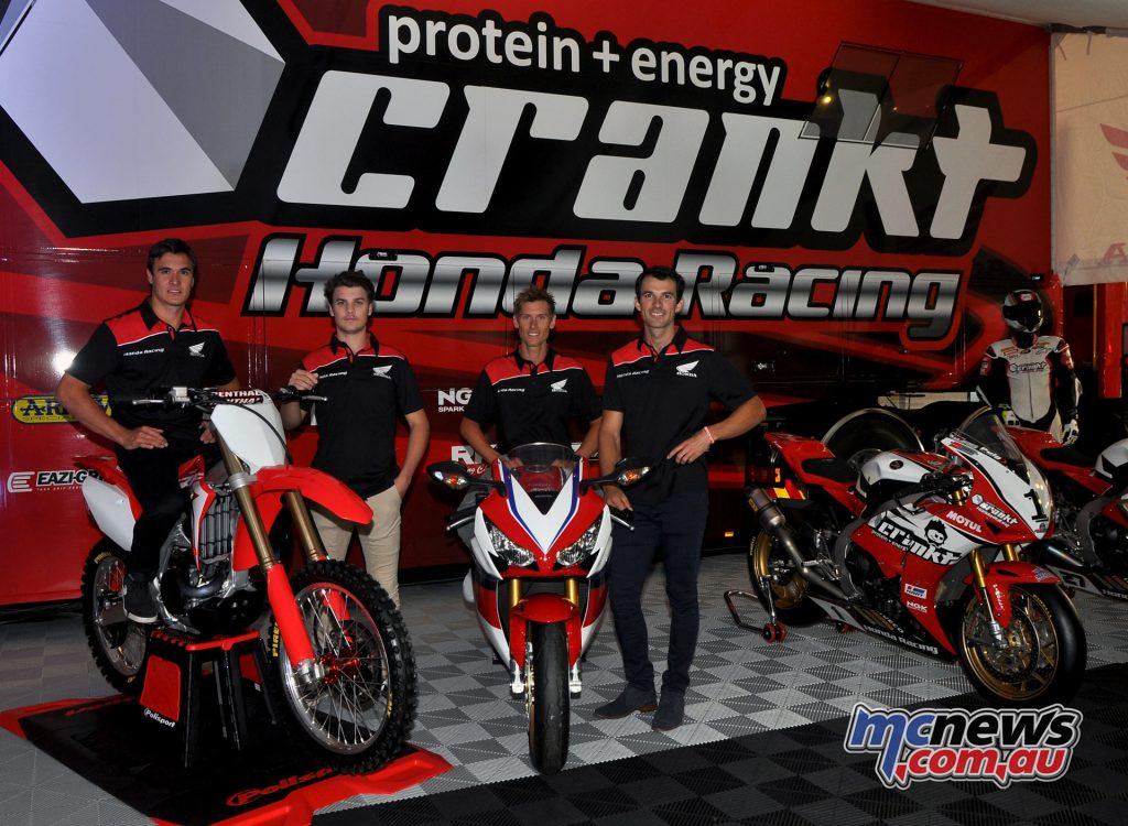Team Honda Racing Team - 2016 Moto Expo - Image by Emma Carlon