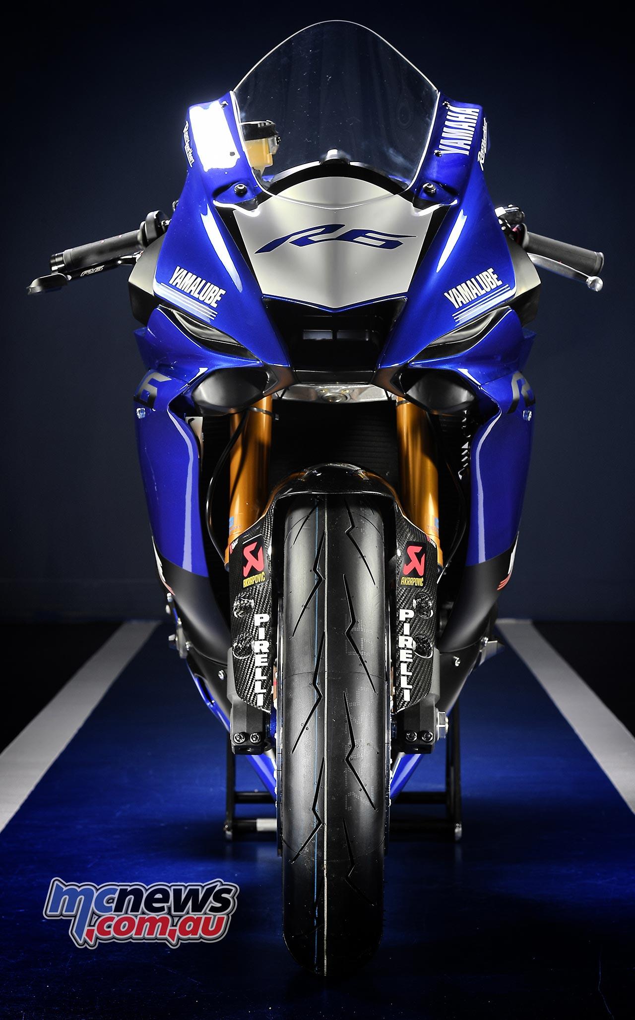 2017 Yamaha YZF R6 In Race Trim