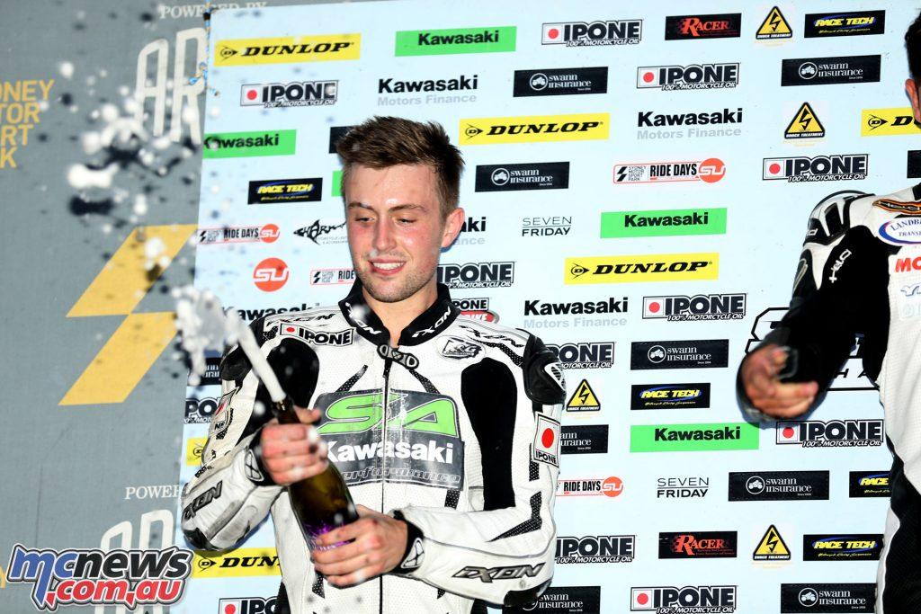 2016 Australasian Superbike Championship - Kyle Buckley