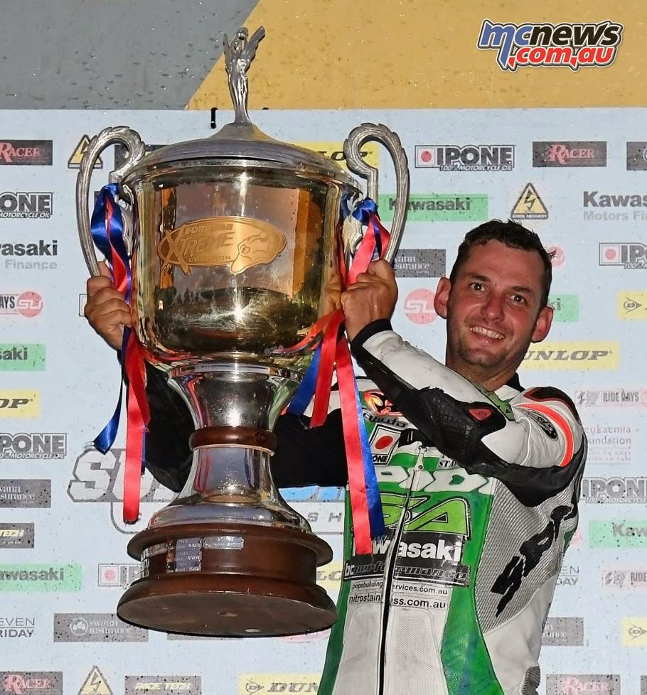 2016 Australasian Superbike Championship - Robbie Budgen