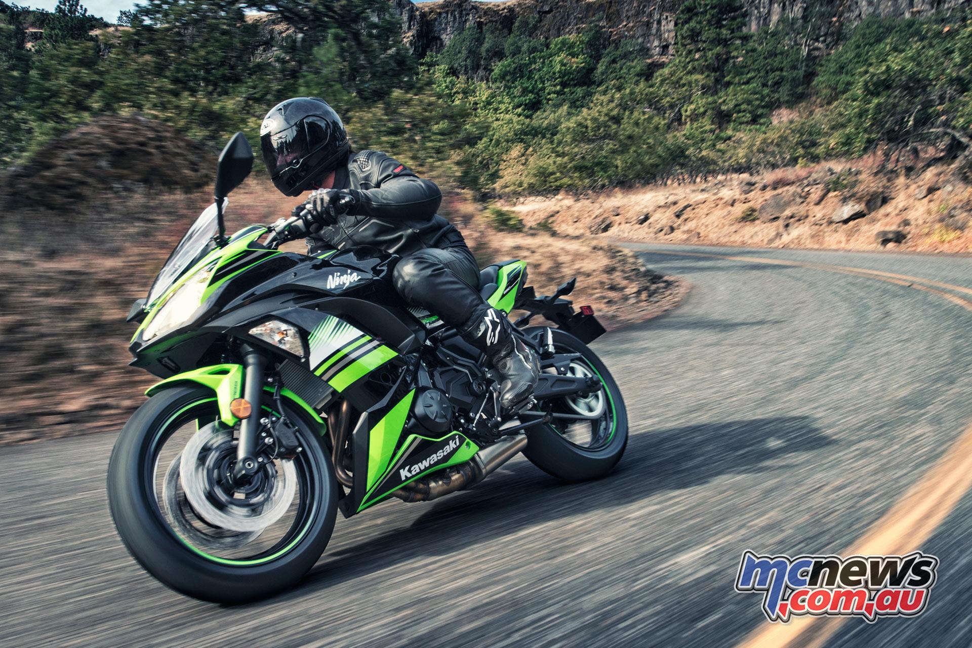 Kawasakis New For 2017 Ninja 650