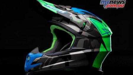 2017 M2R X4.5 off-road helmet arrives!