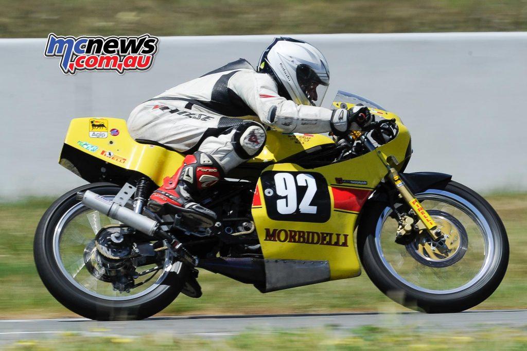 Australian Historic Road Racing Championships 2016 - Image by Colin Rosewarne - David Short Honda RSR 125
