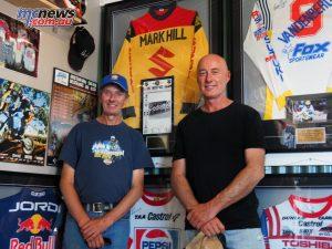 Rosco Holden and Mark Hill