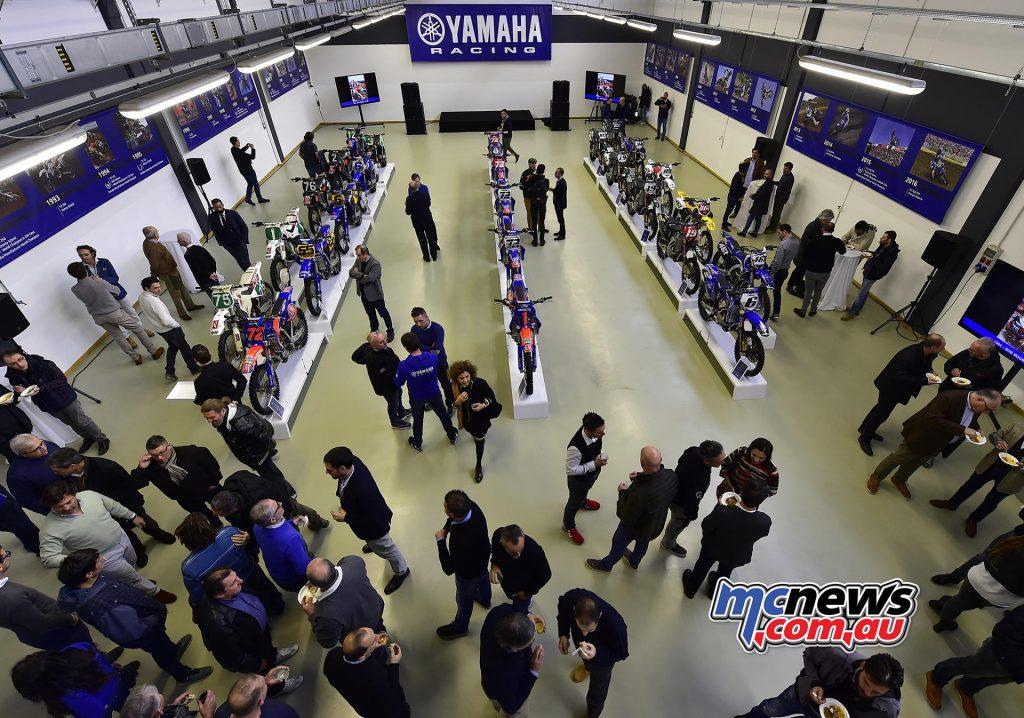 Yamaha Motor Europe History celebrated
