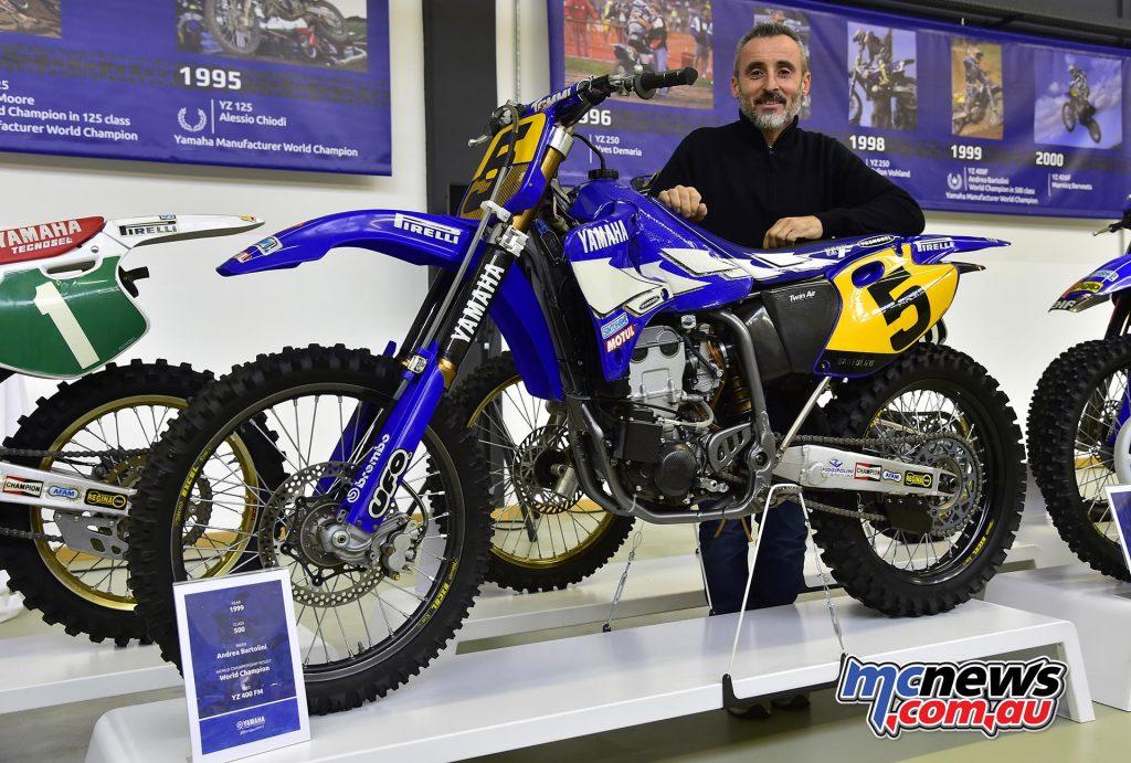 Marnicq Bervoets - 1999 Yamaha YZ400FM - 500cc World Champion