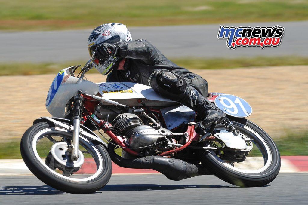 Australian Historic Road Racing Championships 2016 - Image by Colin Rosewarne - Phillip Paton - Bultaco TSS 250
